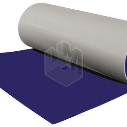 Кровля и водосток - Гладкий плоский лист рулонной стали RAL5002 Синий Ультрамарин ш1.25 эконом, 0