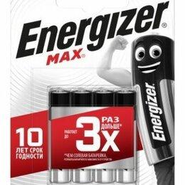 Батарейки - Батарейка Energizer MAX LR03 FSB4 ААА, 4 шт. на картон. блистере - мезинчиковая, 0