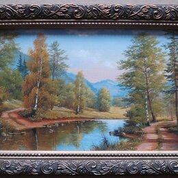Картины, постеры, гобелены, панно - Картина репродукция пейзаж 16 х 25, 0