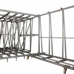 Дизайн, изготовление и реставрация товаров - Кассетный склад для хранения листового стекла, 0