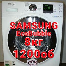 Стиральные машины - Samsung EcoBubble 8кг 1200об как новая, 0