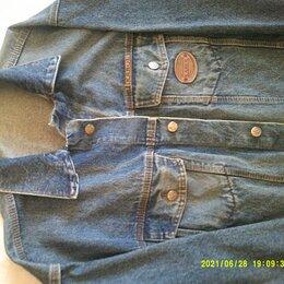 Куртки - Куртка джинса KAROL Италия новая 54-56 размер, 0
