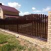 Штакетник металлический для забора в Армавире по цене 66₽ - Заборы, ворота и элементы, фото 6