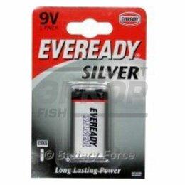 Батарейки - Элемент питания Eveready Super Heavy Duty 9V/6F22 FSB1, 0