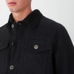 Куртки - Новая Джинсовая Куртка на меху, 0