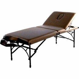 Массажные столы и стулья - Складной массажный стол / Массажная кушетка/Стол для массажа  коричневый, 0