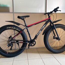 Велосипеды - Велосипед фэтбайк алюминиевая рама /гидравлика , 0