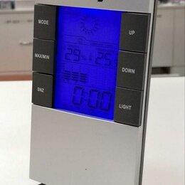 Метеостанции, термометры, барометры - Метеостанция Oxion OTM 87 комнатная с подсветкой, 0