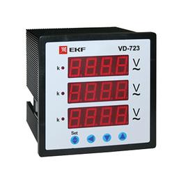 Измерительные инструменты и приборы - Вольтметр цифровой VD-723 на панель 72х72…, 0
