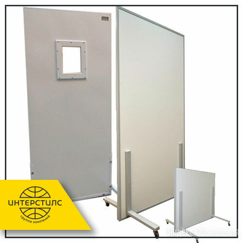 Ширма рентгенозащитная 1000х2100 мм 0,25 Pb по цене 21000₽ - Оборудование и мебель для медучреждений, фото 0
