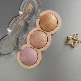 Для лица - Хайлайтер msyaho powder highlighter pretty 3 color miх, 0