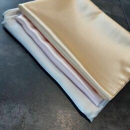 Постельное белье - Шелковое постельное белье премиум класса 2-спальное из 100% шелка silver cream, 0