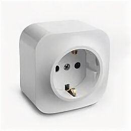 Радиодетали и электронные компоненты - Legrand 782210 Розетка б/з белая QUTEO, 0