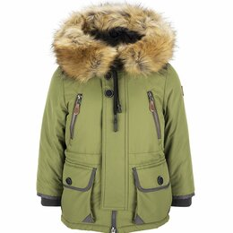 Куртки и пуховики - 64365_BOB(3) ORBY  Куртка  Мал Коричневый/хаки  Зима, 0