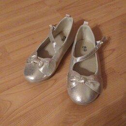 Балетки, туфли - Праздничные туфельки для девочки, 0