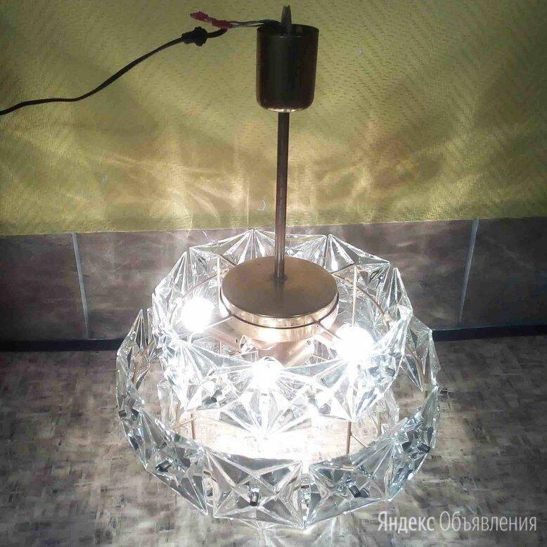 Люстра хрустальная по цене 3000₽ - Люстры и потолочные светильники, фото 0