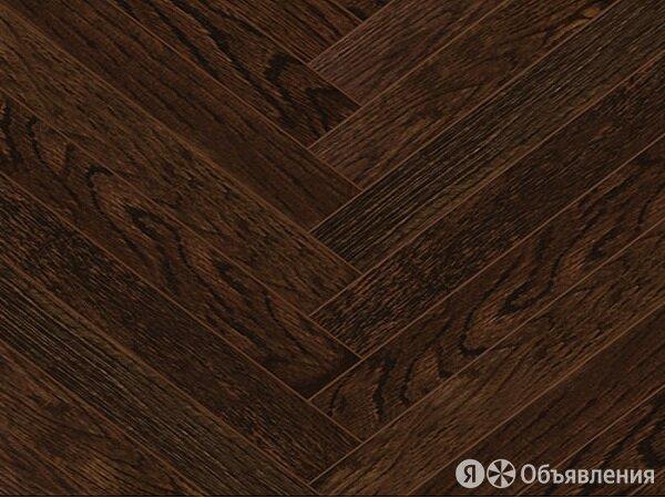 Инженерная доска Kochanelli Английская ёлка Дуб Темный Classic по цене 4037₽ - Массивная доска, фото 0