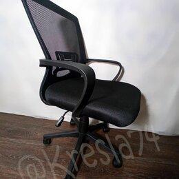 Компьютерные кресла - Компьютерное кресло сетчатое из ткани. Новое, 0