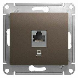 Радиодетали и электронные компоненты - Schneider GSL000881K GLOSSA РОЗЕТКА компьютерная RJ45 кат.5E,, 0