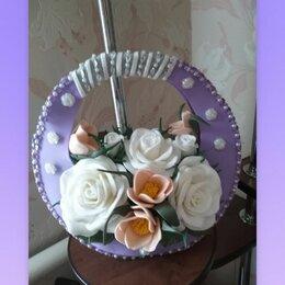 Настольные лампы и светильники - Светильник из роз. Ручная работа. Выполнен из изолона. Включается в сеть. , 0