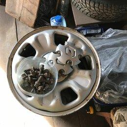 Шины, диски и комплектующие - Диски nissan terrano/renault duster r16, 0