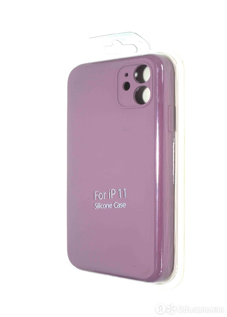 Чехол-накладка для iPhone 11 SILICONE CASE NL с закрытой камерой лавандовый (62) по цене 310₽ - Защитные пленки и стекла, фото 0