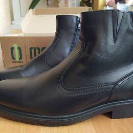 Ботинки - Ботинки мужские кожаные, 0