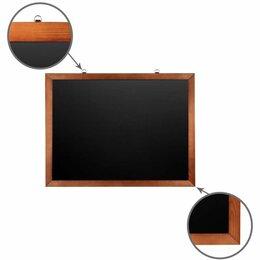 Доски - Доска для мела магнитная 60х90 см, черная,…, 0