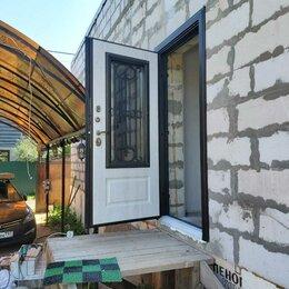 Входные двери - Двери в Дом! С Окном и ковкой+Терморазрыв!, 0