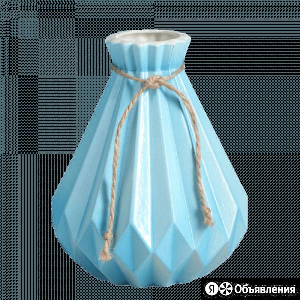 Ваза Модерн 4059774 голубая по цене 475₽ - Вазы, фото 0