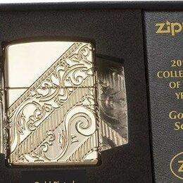 Пепельницы и зажигалки - Зажигалка Zippo 29653 Armor Gold plated Limited Ed, 0