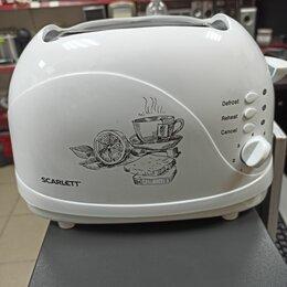 Тостеры - Тостер scarlett sc-tm11007 белый, 0