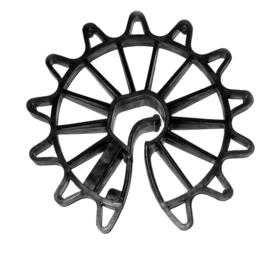 Уголки, кронштейны, держатели - Фиксатор арматуры Звездочка 35(1000шт), 0