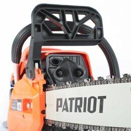 Электро- и бензопилы цепные - Новая бензопила Patriot pt 445 the One, 0