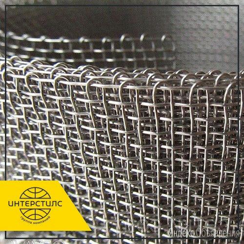 Сетка нержавеющая тканая 12Х18Н10Т 2,8х0,9 мм ГОСТ 3826-82 по цене 4550₽ - Металлопрокат, фото 0