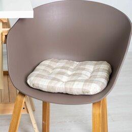 Декоративные подушки - Подушка для стула (бежевая), 0