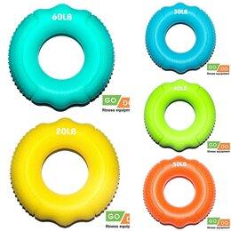 Эспандеры и кистевые тренажеры - Эспандер кистевой кольцо 7см*2см нагрузка 9кг, 13кг, 18кг, 22кг, 27кг, 0