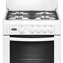 Плиты и варочные панели - Плита газовая Gefest ПГ6100-03 белая (б/у), 0