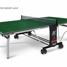 Столы - Теннисный стол Top Expert Light green, 0