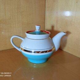 Заварочные чайники - Советский фарфоровый чайник из 70-х Довбыш, 0