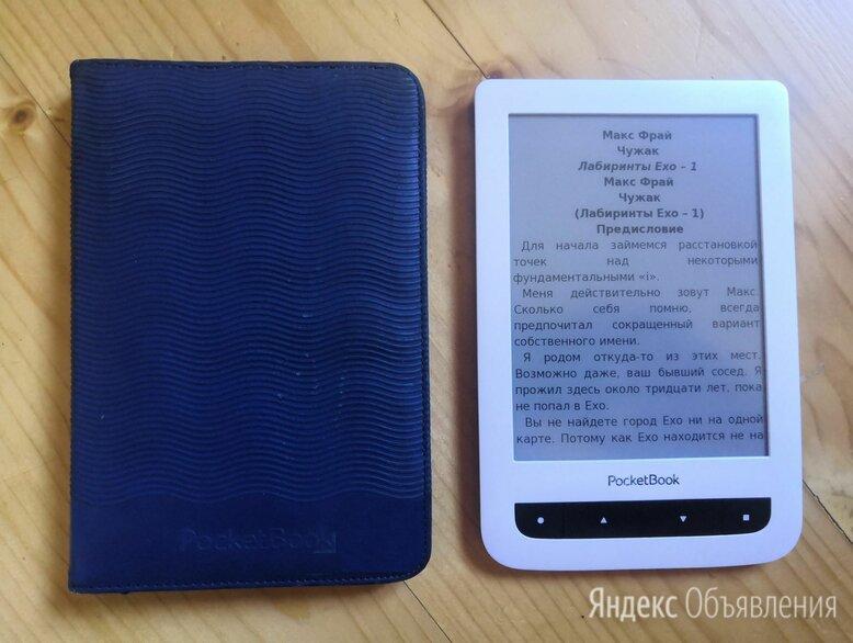 Электронная книга Pocketbook 624 Wi-Fi сенсорная  по цене 5000₽ - Электронные книги, фото 0