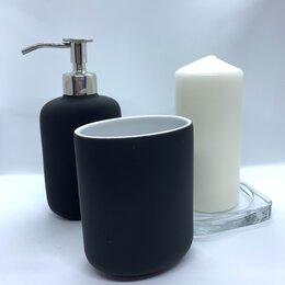 Мыльницы, стаканы и дозаторы - Дозатор для жидкого мыла proffi home графит ph6487, 0