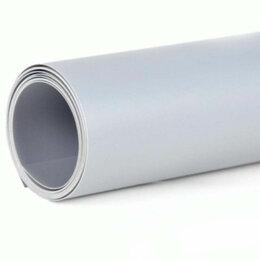 Фоны -  Серый пластиковый фон FST 60х130 см. для предметной съёмки , 0