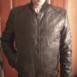 Куртки -  мужская куртка экокожа, 0