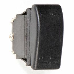 Электроустановочные изделия - Переключатель трехпозиционный ON-OFF-ON 12В/16А 6Р, Skipper, 0