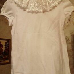 Рубашки и блузы - Блузка школьная белая, 0