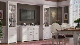 Шкафы, стенки, гарнитуры - Гостиная Афродита. Комплект 1, 0