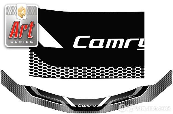 Дефлектор капота (Серия Art графит) Toyota Camry 2006 - 2009 г.в. СА Пластик ... по цене 2810₽ - Кузовные запчасти , фото 0