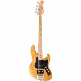 Электрогитары и бас-гитары - Бас-гитара FGN J-Standard Mighty Jazz JMJ-ASH-M VNT, 0