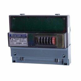 Счётчики электроэнергии - Эл.счетчик МЕРКУРИЙ 231 АМ-01  3фазный одн.тарифный (5-60А) механический кл.точн, 0